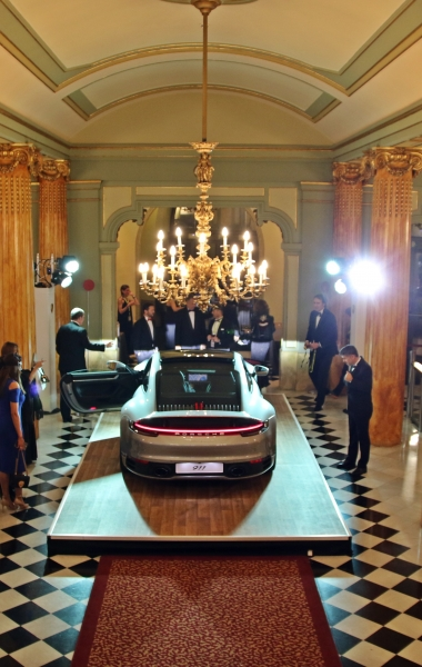 Porsche – Launch of the new Porsche 911